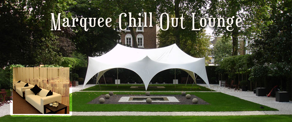 TentEvent | Marquee chill out lounge