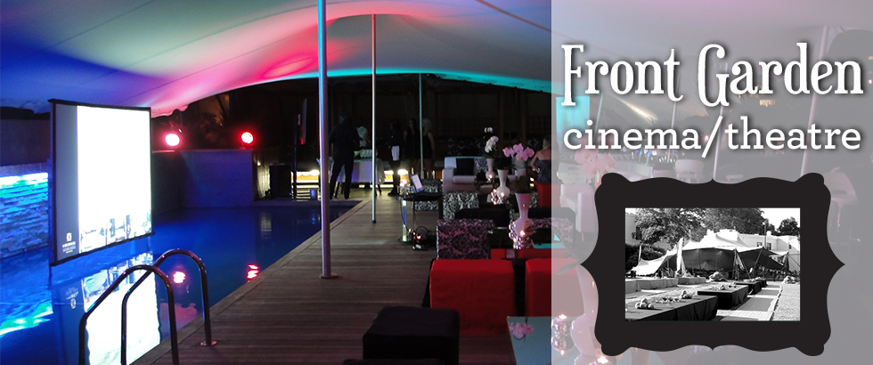 TentEvent | Front garden cinema/theatre