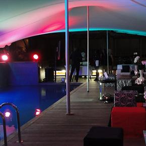 TentEvent | Front garden cinema/theatre